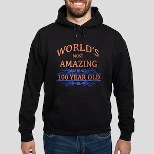 World's Most Amazing 100 Year Old Hoodie (dark)