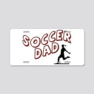 Soccer Dad (daughter) Aluminum License Plate