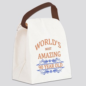 World's Most Amazing 90 Year Old Canvas Lunch Bag