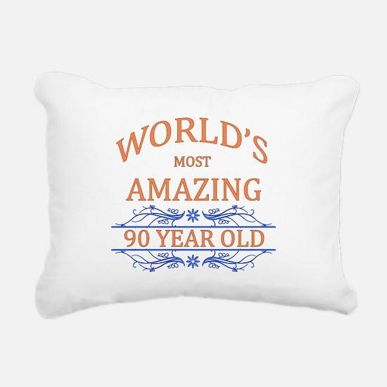 World's Most Amazing 90 Rectangular Canvas Pillow