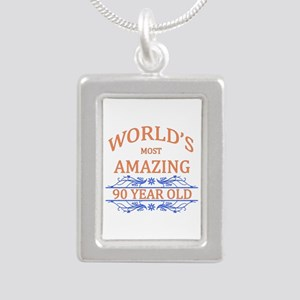 World's Most Amazing 90 Silver Portrait Necklace