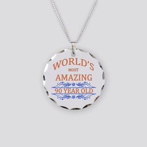 World's Most Amazing 90 Year Necklace Circle Charm