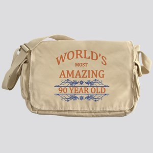 World's Most Amazing 90 Year Old Messenger Bag