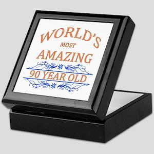 World's Most Amazing 90 Year Old Keepsake Box