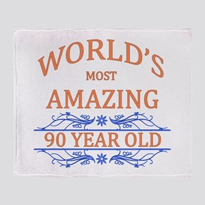 World's Most Amazing 90 Year Old Throw Blanket