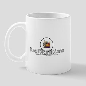 Real Morticians Logo Mug