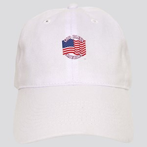 God Bless America With USA Flag Baseball Cap