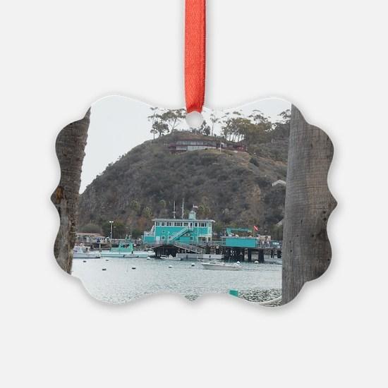 Catalina Pier Coast Ornament