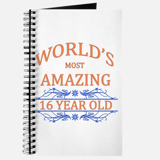 World's Most Amazing 16 Year Old Journal