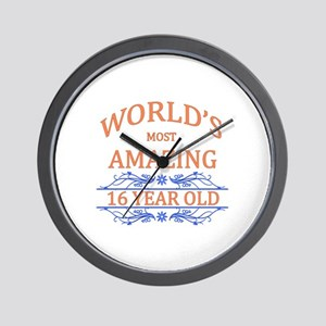 World's Most Amazing 16 Year Old Wall Clock