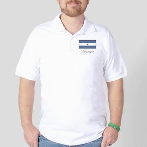 Nicaragua - Flag Golf Shirt
