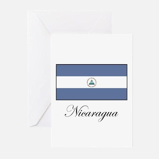Nicaragua - Flag Greeting Cards (Pk of 10)