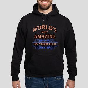 World's Most Amazing 35 Year Old Hoodie (dark)