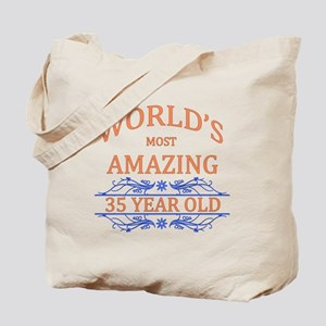 World's Most Amazing 35 Year Old Tote Bag