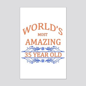 cute 35th birthday posters cafepress