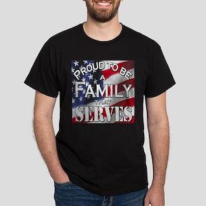 """Proud Family that Serves"" Women's T-Shirt"