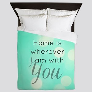 Home With You Queen Duvet