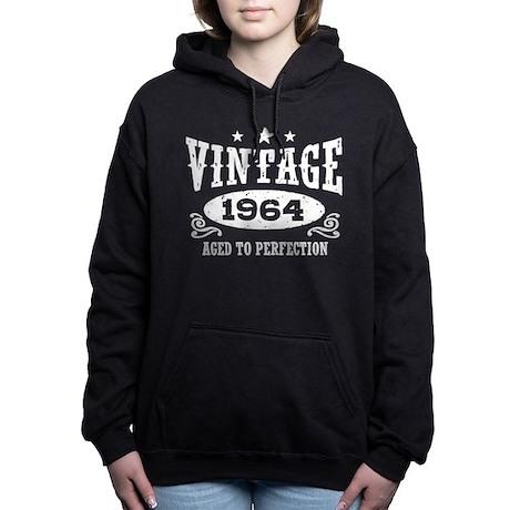 Vintage 1964 Women's Hooded Sweatshirt