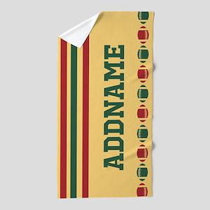 Football Portugal Colors Customized Beach Towel