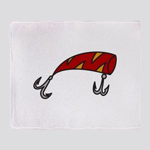 Fish Hook Throw Blanket