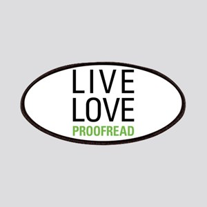 Live Love Proofread Patches