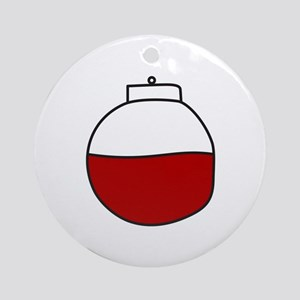 Fishing Bobber Ornament (Round)