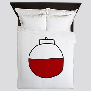 Fishing Bobber Queen Duvet
