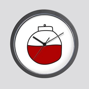 Fishing Bobber Wall Clock