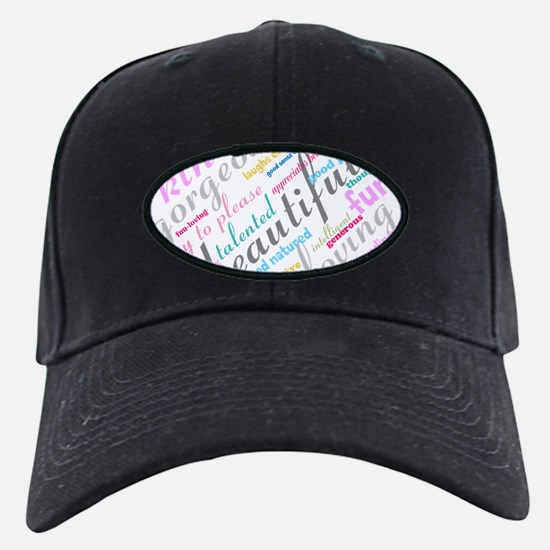 Positive Thinking Text Baseball Hat