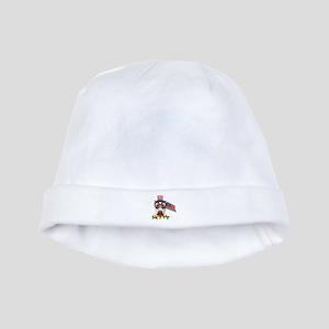 Patriotic Owl baby hat