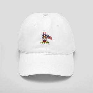 Patriotic Owl Cap