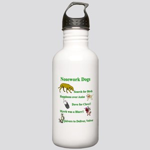 Nosework Dogs Working Water Bottle