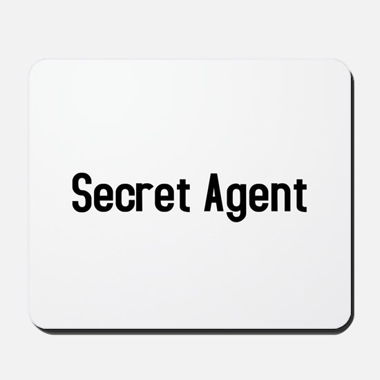 Secret Agent Mousepad