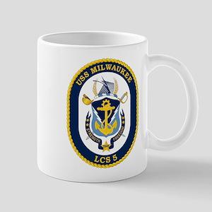 USS Milwaukee LCS-5 Mugs