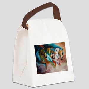 three spirits Canvas Lunch Bag