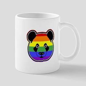 panda head pride Mug