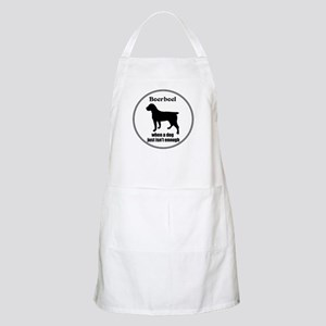 Boerboel Enough BBQ Apron