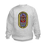 USS THOMAS C. HART Kids Sweatshirt