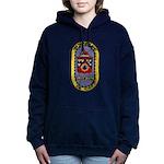 USS THOMAS C. HART Women's Hooded Sweatshirt
