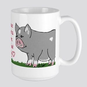 A House Is not a Home without a Pig Mugs