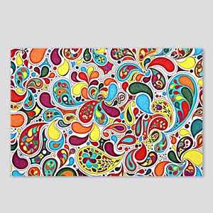 Whimsy Burst Postcards (Package of 8)