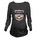USS FRANCIS HAMMOND Long Sleeve Maternity T-Shirt