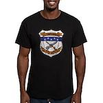 USS FRANCIS HAMMOND Men's Fitted T-Shirt (dark)