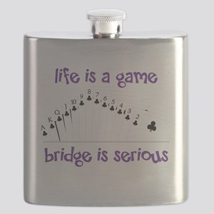 Life Is A Game bridge is serious Flask