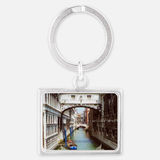 Bridge of Sighs, Venice Italy S Landscape Keychain