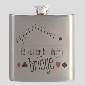 id rather be playing bridge Flask