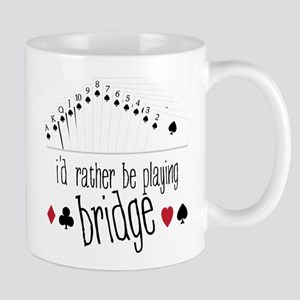 id rather be playing bridge Mugs