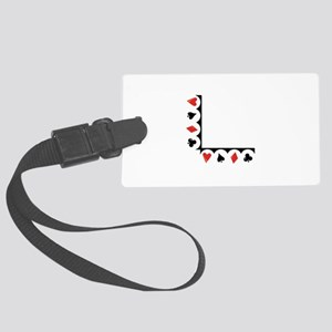 Playing Cards Corner Luggage Tag