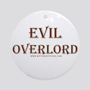 Evil Overlord Ornament (Round)