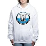 bChill Turtle Women's Hooded Sweatshirt